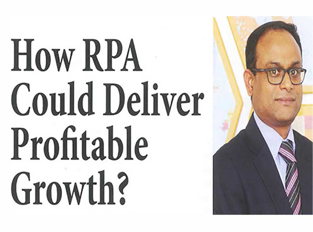 How Robotics Process Automation (RPA) Could Deliver Profitable Growth